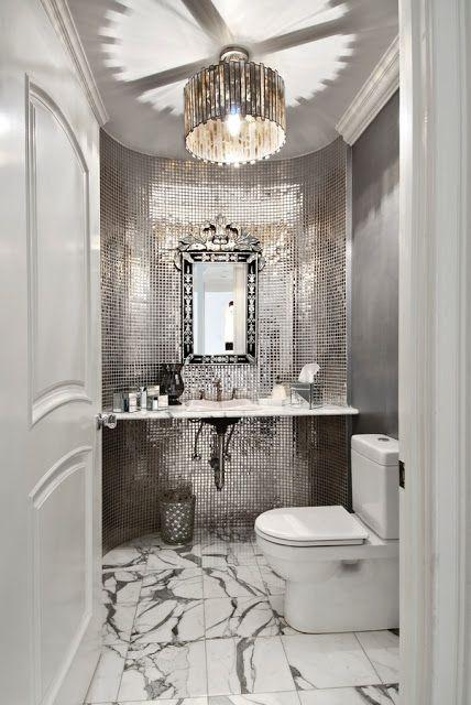 The Granite Gurus  5 Glamorous Silver BathroomsBest 25  Silver bathroom ideas on Pinterest   Luxurious bathrooms  . Silver And White Bathroom Ideas. Home Design Ideas
