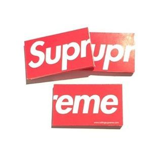 Supreme Rolling Papers 2008 In 2019 Box Logo Bape