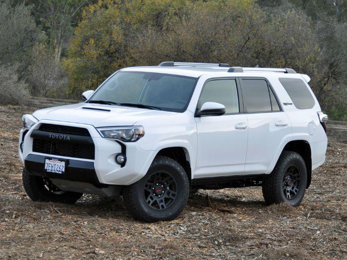 2016 Toyota 4Runner Limited White