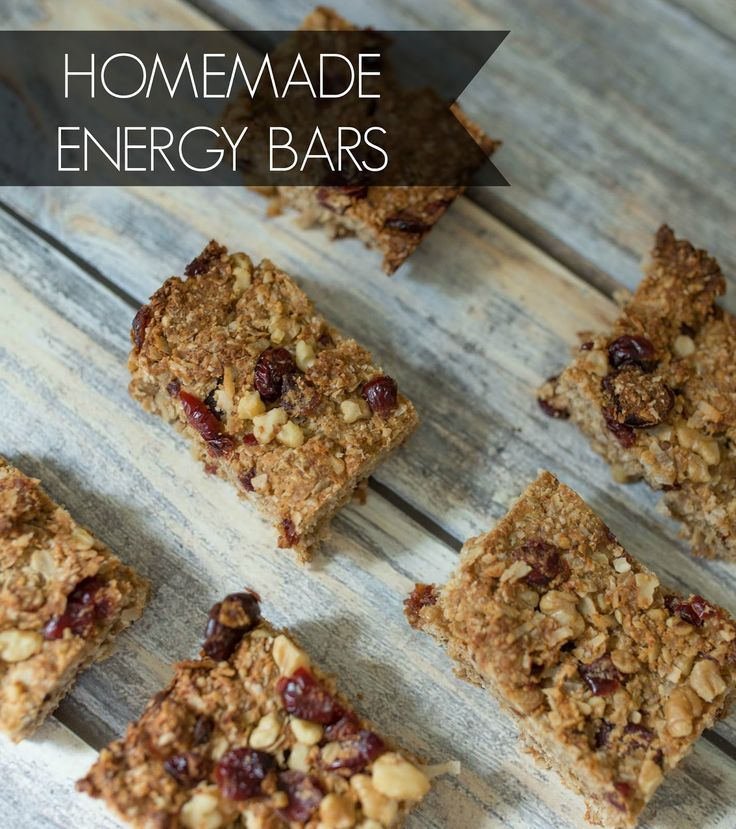 Homemade energy bars - control what ingredients go into what you eat by making it yourself! These are easy and delicious and perfect for anyone who is busy and needs a snack on the go! #Truvia #SweetNewYear #Ad