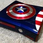 Custom Modified Captain America Themed Xbox 360 Console