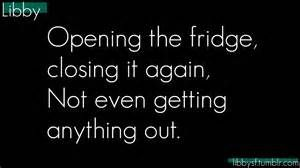 funny quotes about cold weather lovely Opening the fridge