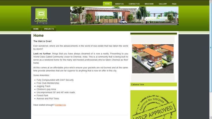 Opulent Properties - Website Development
