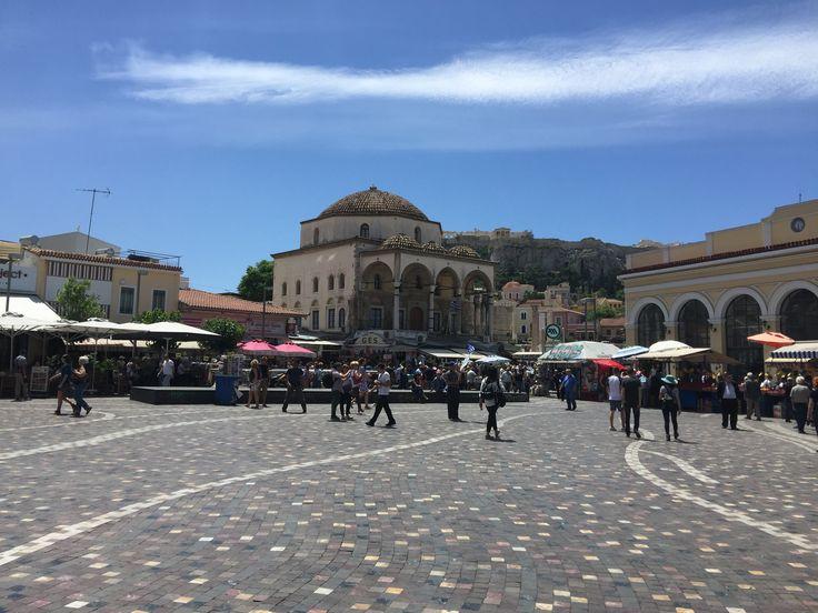 Atina - Yunanistan Monastiraki Meydanı