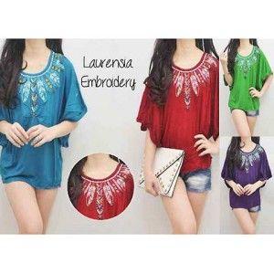CI0953 Laurensia Embro - Busana Terbaru | Produk Fashion Terbaru, Baju Muslim Dress Jakarta di Tissa Busana Fashion