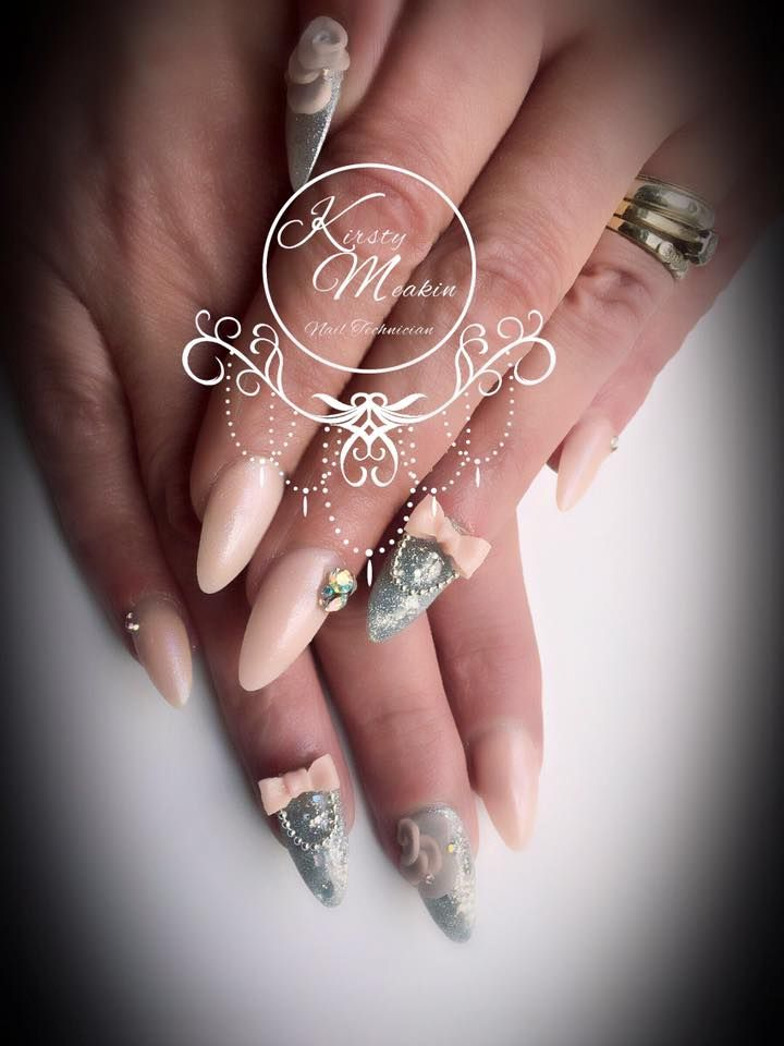 28 best Kirsty Meakin images on Pinterest | Nailart, Acrylic nail ...