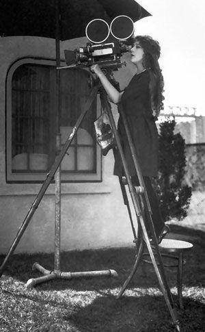 Trailblazer Mary Pickford directing.