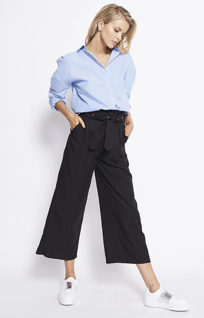 STAPLE THE LABEL - West Trouser Black