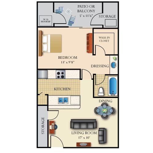 600 sq feet house plan