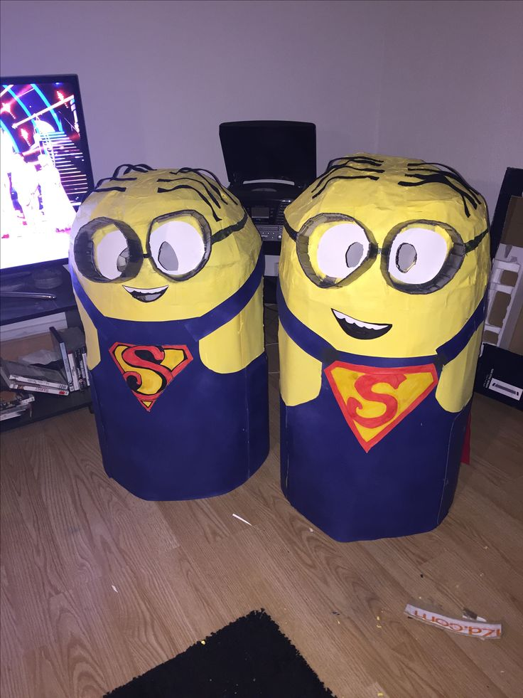 Déguisement Minions super Minion home made #Déguismeentminion #SuperMinion #Homemade