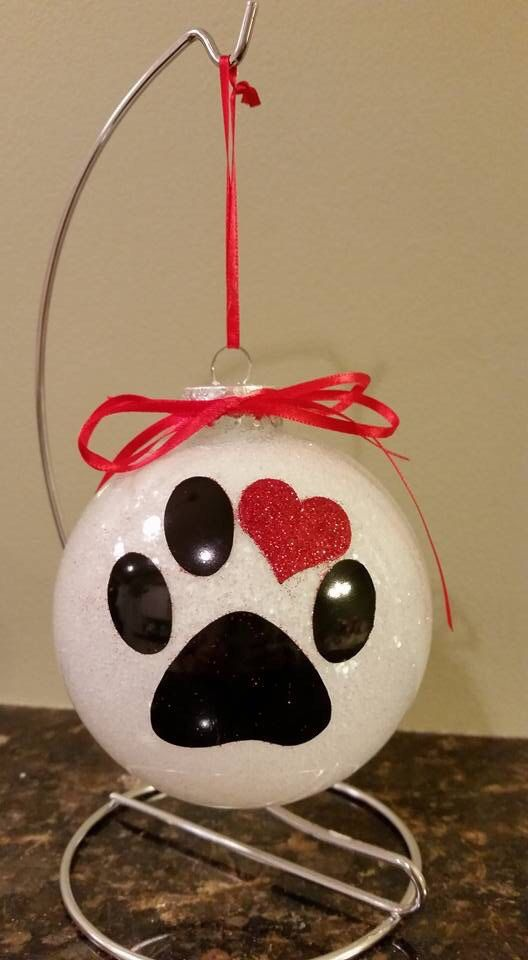 Christmas pet lover ornament Dog ornament by CreativeCraftRooms