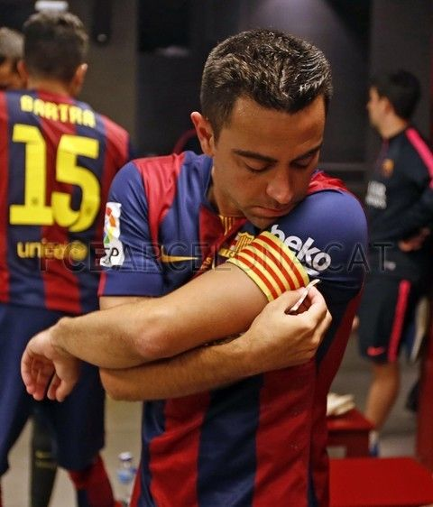 La otra cara de la despedida de Xavi   FC Barcelona
