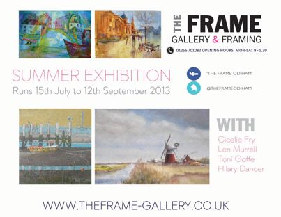 Our Summer Exhibition July - Sept 2013