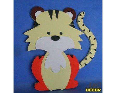 Tygrysek - Dekoracje Do Przedszkola, Pokój Dziecięcy (NA ZAMÓWIENIE) - ARQ - DECOR | Pracowania Dekoracji ARQ DECOR