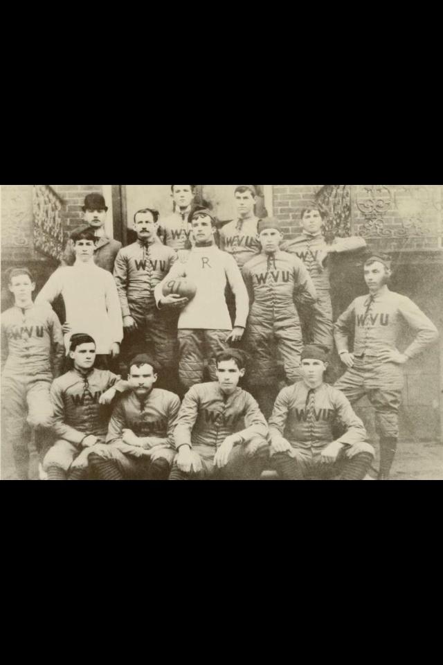 WVU's first football team in 1891!