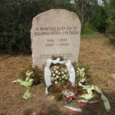A zsitvatoroki béke emlékműve