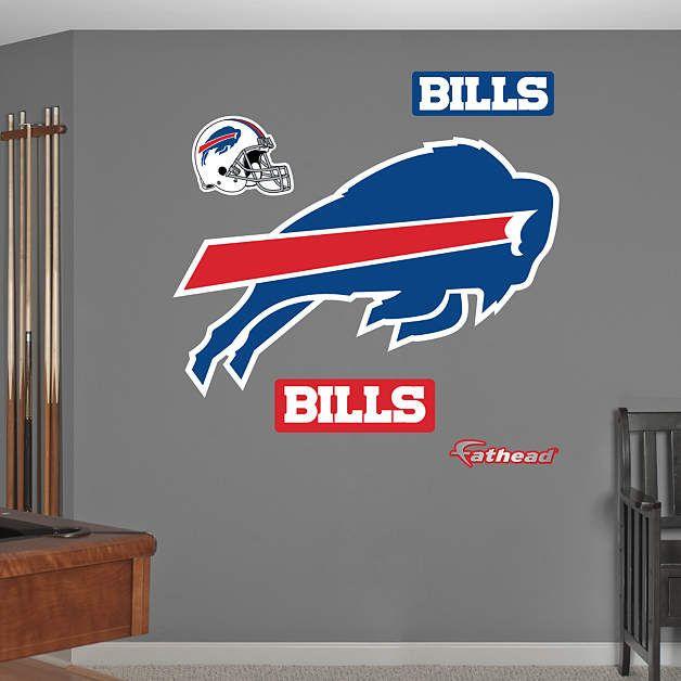 Fathead Buffalo Bills Logo Decal - Wall Sticker Outlet