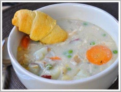 Turkey Pot Pie Soup | Tasty Kitchen: A Happy Recipe Community!