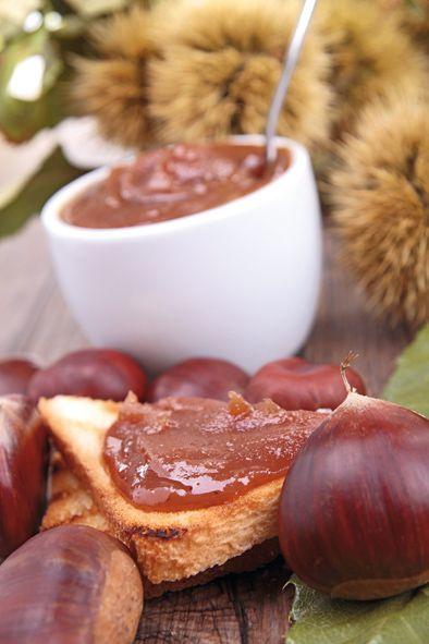 Gaštanová marmeláda