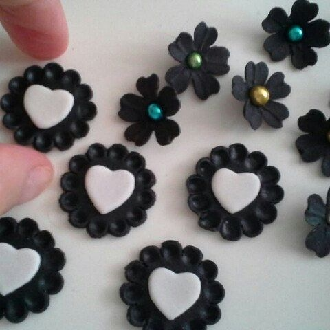 The start of our black range. These will be in the shop on the next few days!