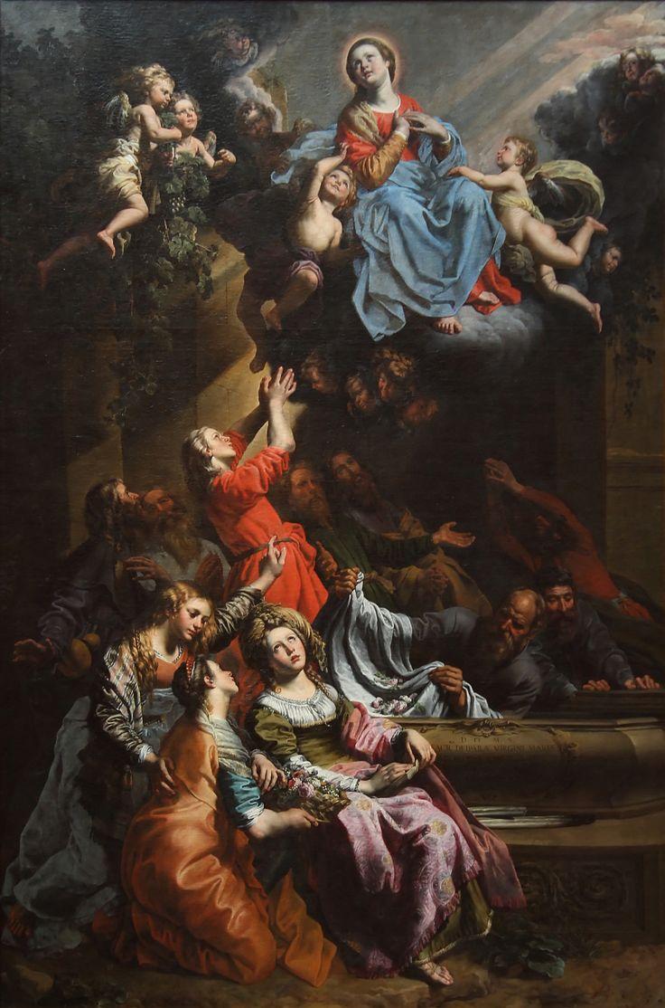 Theodor_van_Loon_-_L'assomption_de_la_Vierge.jpg-Ubicación actual: Museos Reales de Bellas Artes de Bélgica