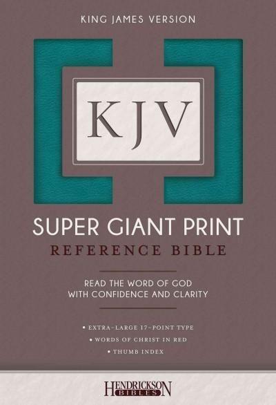 Holy Bible: King James Version,, Super Giant Print