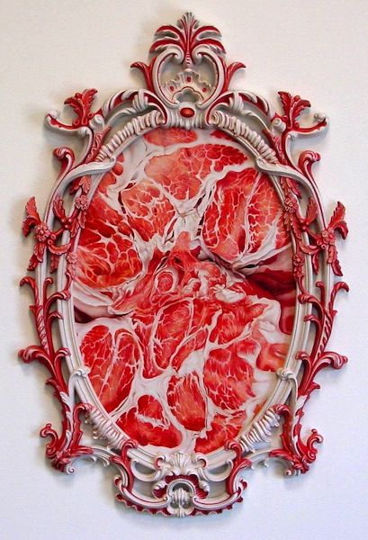 Ornate, Beautiful Paintings of Raw Meat