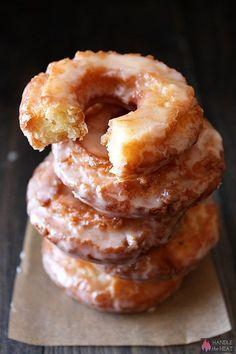 Old-Fashioned Sour Cream Doughnuts Recipe | Handle the Heat