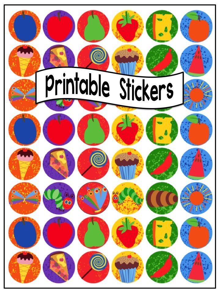 Las mejores 68 ideas de Printable Stickers ideas on Pinterest ...