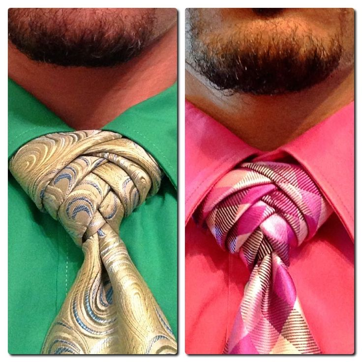 How to tie a tie: The Artichoke Knot                                                                                                                                                     More