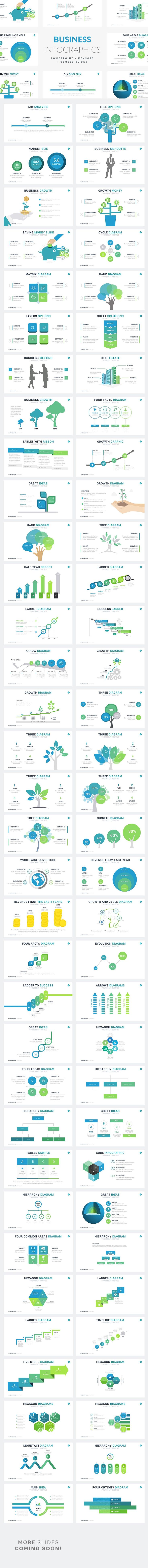 Business Infographics | PPT KEY GS by Rocketo Graphics