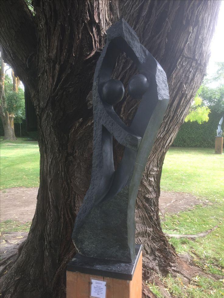 #B61-010 Music to the Ears by Tawanda  Makore - Springstone - 110cmh x 30 x 30cm - $860