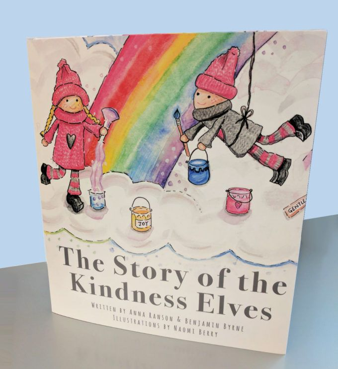 The Story of the Kindness Elves book is here!