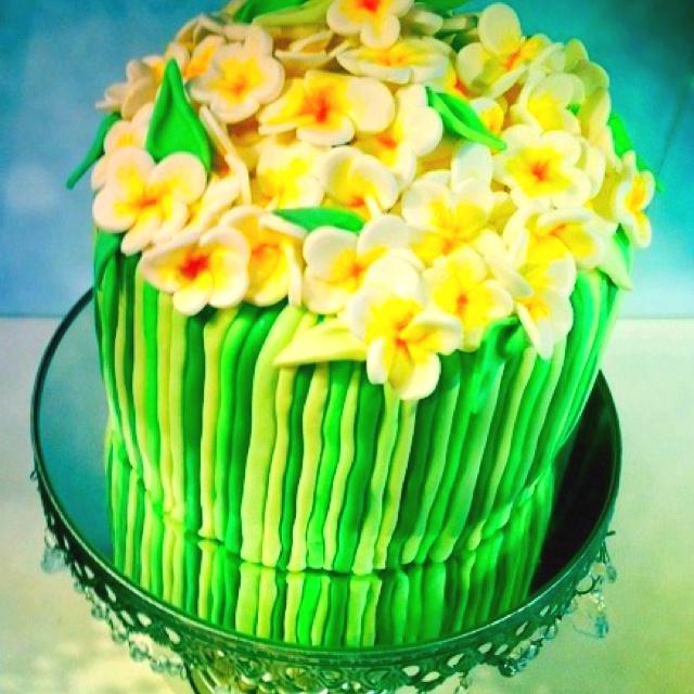 Mini Frangipani Cakes