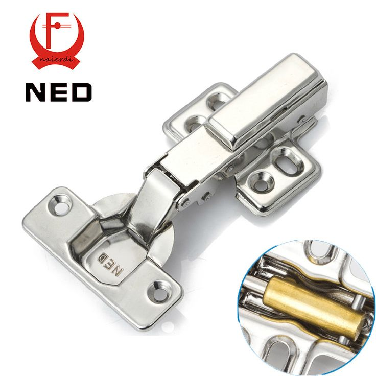 NED Full Size 304 Stainless Steel Hydraulic Hinge Pure Copper Damper Buffer Cabinet Cupboard Door Hinges Furniture Hardware - ICON2 Luxury Designer Fixures  NED #Full #Size #304 #Stainless #Steel #Hydraulic #Hinge #Pure #Copper #Damper #Buffer #Cabinet #Cupboard #Door #Hinges #Furniture #Hardware
