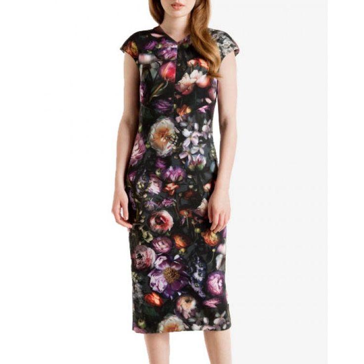 Ted Baker RAISIE floral φόρεμα   John-Andy.com