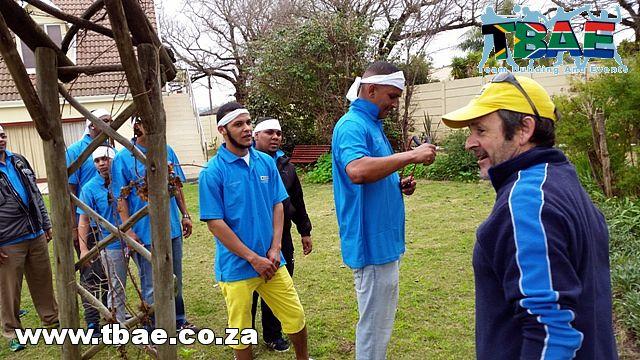 Rickard Air Diffusion Amazing Race Team Building Cape Town