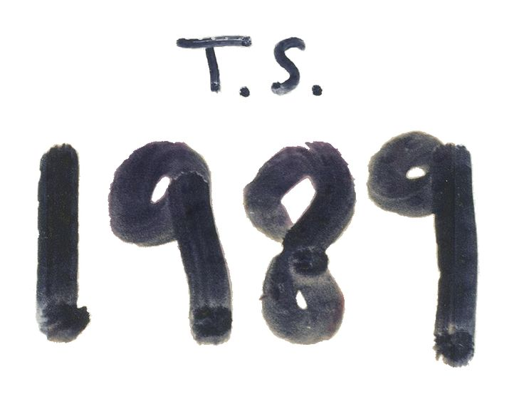 low cognitive effort - when I see 1989 posted anywhere, I immediately think of Taylor Swift's latest album, but I could see how others could be confused if they don't listen to her music.