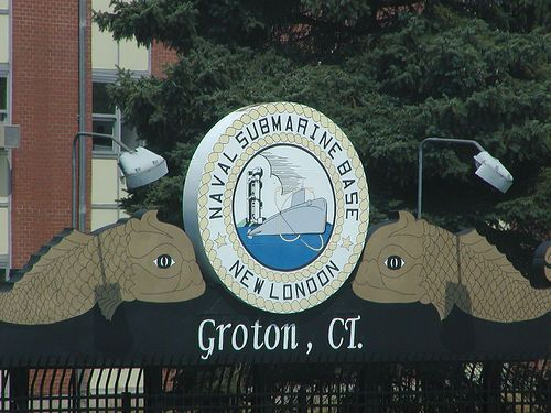 Naval Submarine Base New London, Groton, CT by Matt B., via Flickr