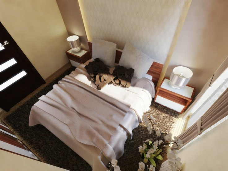 #sypialnia #bedroom wg 3esdesign.pl