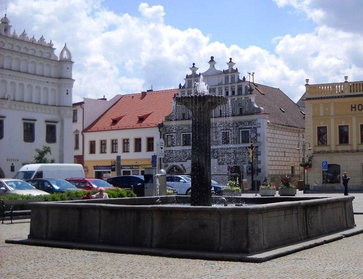 Kašna na náměstí  - Sušice - Plzeňský kraj - Česko