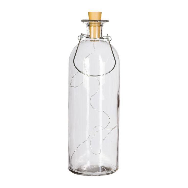 Bottiglia con led (disponibile in piu colorazioni)