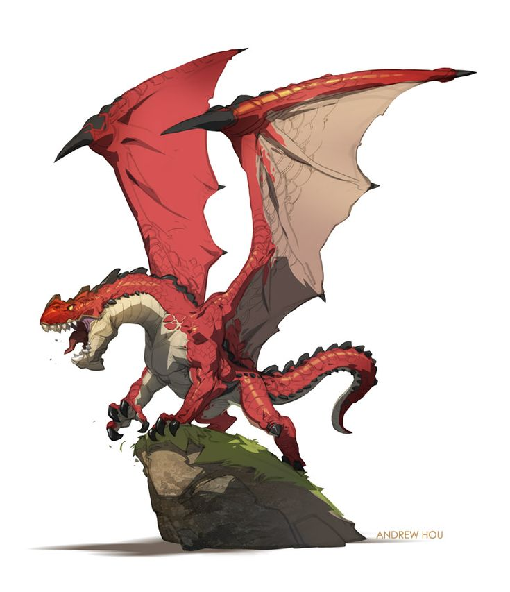Red Dragon by nJoo on deviantART