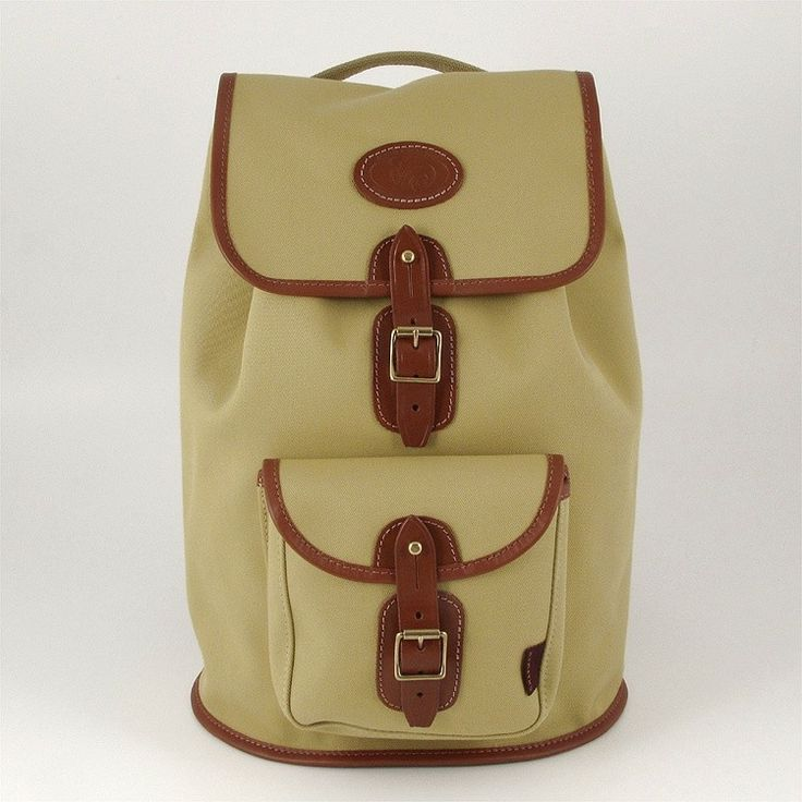 Canvas Border Rucksack By Chapman Bags.