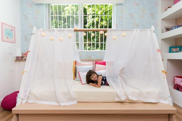 Cama Cabana Montessori - Projeto Cristiane Passos