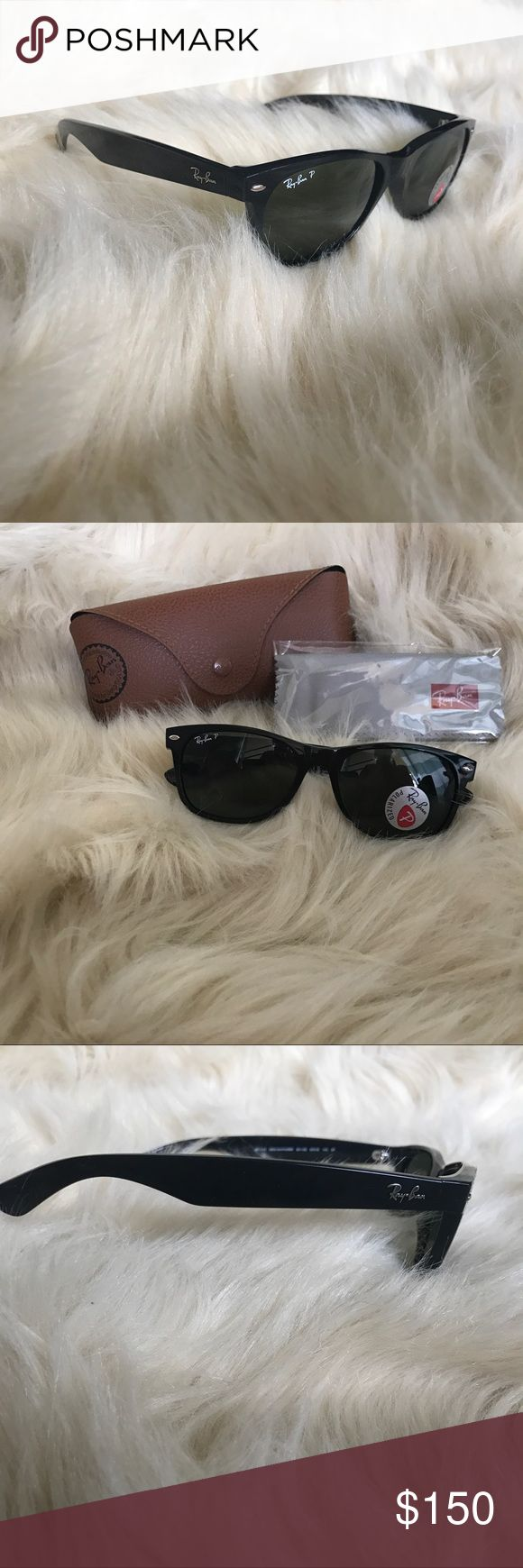 Ray-Ban original wayfarer POLARIZED! NWT! 55mm The one and only! Classic Ray ban wayfarers, brand new! Polarized! Ray-Ban Accessories Sunglasses