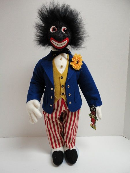 Mr. Golliwog. Great face.