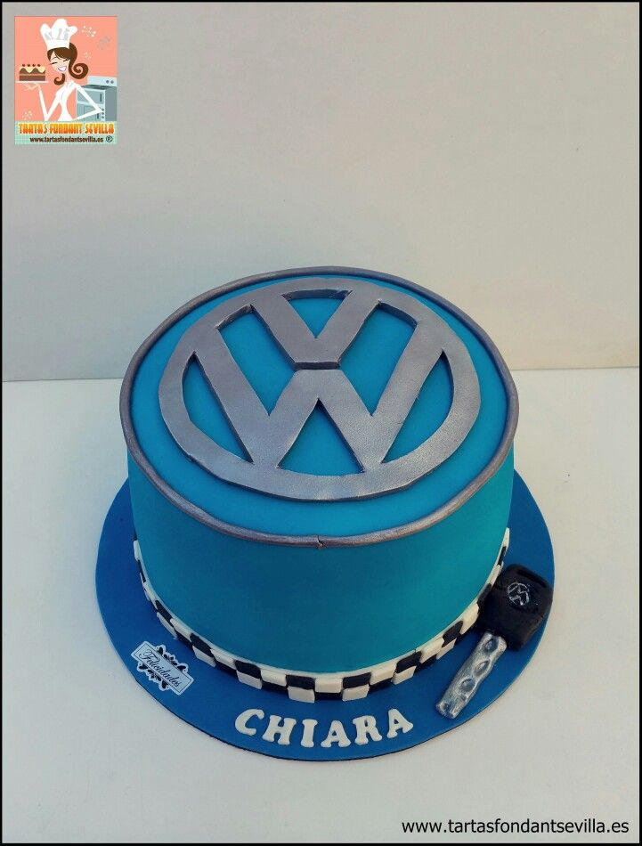 Tarta logo Volkswagen