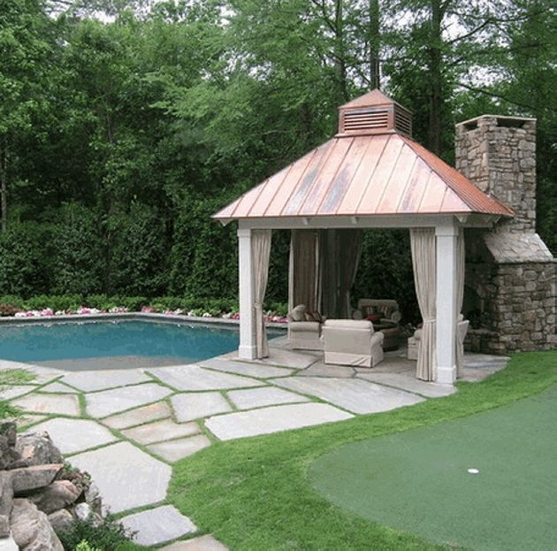 Gazebo Roof Ideas