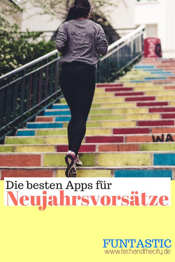 Die besten Apps für Neujahrsvorsätze – Tech and the City | Technik-Blogazine für Frauen